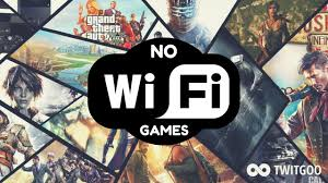 sadly the majority of the mobile games in the modern day require an active internet connection