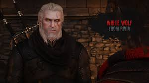 The Witcher 3 Wild Hunt White Wolf From Rivia белый волк из