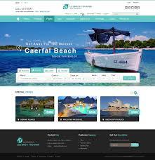 Tourism Web Design Inspiration Web Design Inspiration Search Area Above Photo Banner