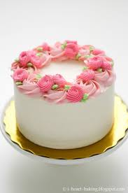 Floral Wreath Cake For Mothers Day Cakes Mother Birthday Cake