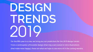 Graphic Design Trends 2019 Predictions Design Trends For 2019 Asymmetry Jarring Colors And