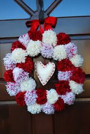 valentine wreaths for your front doorInviting Valentine Outdoor Accessories Design Introduce Splendid