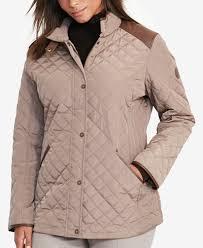 Lauren Ralph Lauren Plus Size Quilted Jacket - Coats - Women - Macy's & Lauren Ralph Lauren Plus Size Quilted Jacket Adamdwight.com