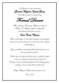 Formal Dinner Invitation Sample Magnificent Format Writing Formal Invitation Letter New Formal Invitation Sample