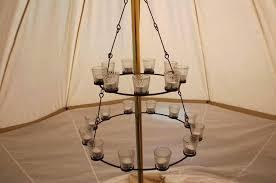 tea light chandelier more views outdoor pendants