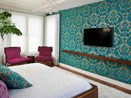 Light Teal Accent Wall