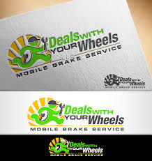 logo design by nivleik for deals with your wheels design 12009246