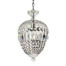 sold rous vintage domed crystal chandelier c 1940s