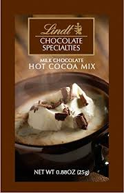 amazon lindt chocolate hot cocoa mix milk chocolate 100 count pack of 100 grocery gourmet food