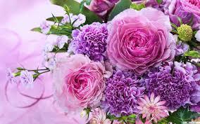 flower wall paper download a bouquet of pink flowers hd wallpaper download