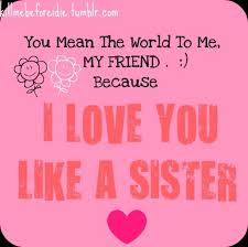 I Love You Sister Quotes Inspiration Download Love You Sister Quotes Ryancowan Quotes