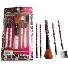 5 pc s professional makeup brush set