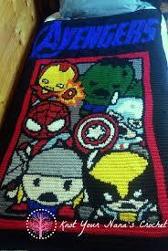 Knot Your Nanas Crochet Avengers Graphgan