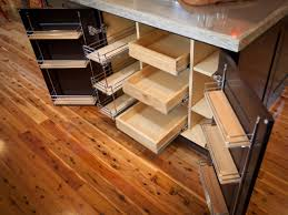 Custom Diy Pull Out Shelves For Kitchen Cabinet Made From Brazilian