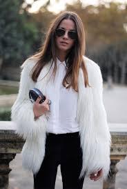 white faux fur coat 40 lovely faux fur fashion attempts pownxtb