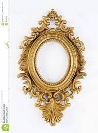 oval golden frame vector royalty free stock photos oval vintage gold ornate frame image