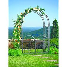 Small Picture Amazoncom Achla Designs Tuscany Arbor Garden Arch with Gate