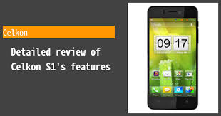 Celkon S1 - Features and reviews ...