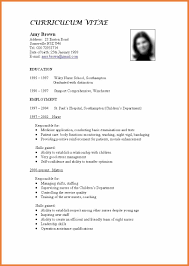 Standard Form Of Resume Sample Tandard Resume Template Standard Resume Template 24 Standard Format 11
