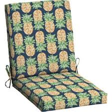 outdoor dining chair cushions. Mainstays Outdoor Patio Dining Chair Cushion (Pineapple) Cushions K