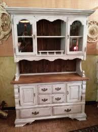 repurposed antique furniture. hutch cupboard china cabinet repurposed antique furniture