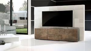 Porta tv moderno modello pepsy colore acciaio antico mobile