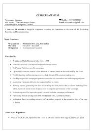 Nirupama Resume
