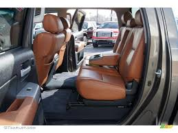 Red Rock Interior 2008 Toyota Tundra Limited CrewMax 4x4 Photo ...