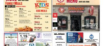 Restaurant Menu Format Free Free Colour Take Out Restaurant Menu Put Your Business Card On A