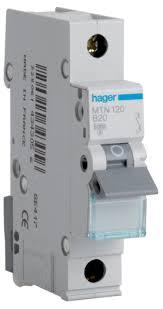 mk k9233blu socket 2p e angled 32a Circuit Breaker Box hager mtn120 mcb sp type b 20a 6ka