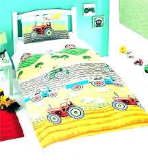 fire truck bedding sets duvet cover construction sheets toddler