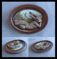 eurofurence rabbit 3d painting painting do you dare come closer