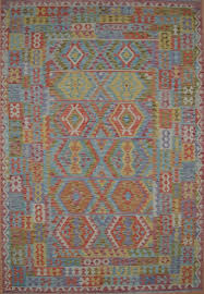 af k316 afghan kilim vegetable dye hand woven all wool afghanistan rug