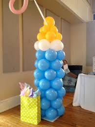 Baby Bottle Balloon Decoration 600 best Balloon Decorating Ideas 60 Baby Shower images on 23