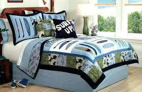 boy twin comforter sets kids twin bedding set boys bed sets surf wave quilt boys bedding boy twin comforter sets