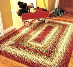 hand woven area rugs oval area rugs country area rugs rectangular braided area rugs square red