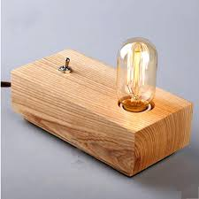 table lamp wooden table lamp shade lamps bedroom wood uk