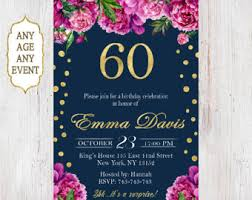 60 birthday invitations 60th birthday invitations surprise 60th birthday invitations