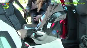 graco car seat installation junior baby car seat rear facing seat fitting guide graco infant car