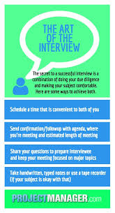 Guide To Interviewing A Subject Expert Projectmanager Com