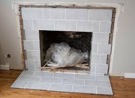 Tile Fireplace Makeover Swingncocoa Fireplace Makeover Part 1 A Crispy Facade