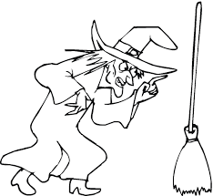 Small Picture Witch Coloring Page Free Printable Witch Coloring Pages For Kids