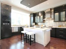 stainless steel kitchen hood. View In Gallery Contemporary Black And White Kitchen With Stainless Steel Hood T