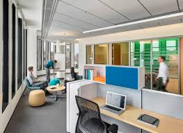 collaborative office spaces. A Diversity Of Meeting Areas Abound, From Conference Rooms To Open Gathering Spaces. Photo Collaborative Office Spaces I
