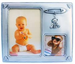 baby collage frame baby 2 photo collage photo frame high quality pewter newborn