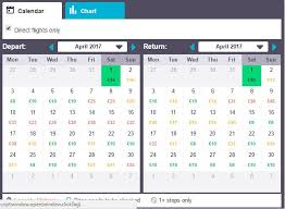 Airline Fare Comparison Chart Skyscanner Tips And Tools How To Search Flight Prices