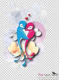 cartoon love birds png clipart