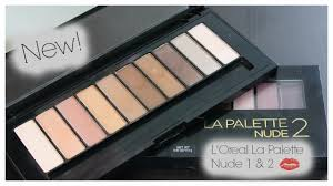 l oreal la palette 1 2 review swatches tutorial you