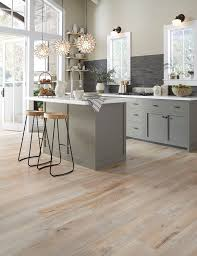 Image Plank Floors The Neutral Floors Work With Almost Any Color Cabinets But Especially With This Years Hot Kitchen Color Grey Tish Flooring Trends In Flooring Light Hardwood Home Fashion Tish Flooring