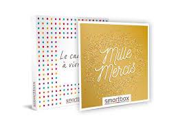 It contains ten tracks chosen by fans and a new original track. Coffret Cadeau Mille Mercis Smartbox